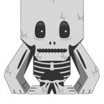 skeleton blokhed