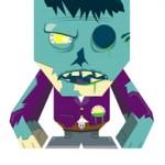 zombie blokhed